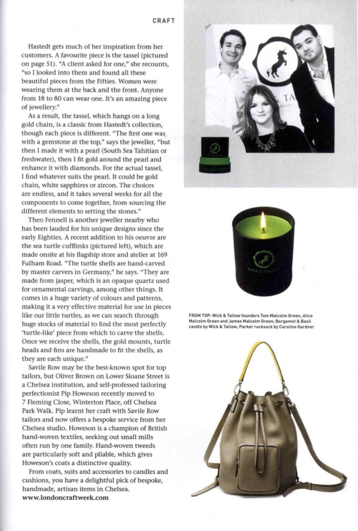 Sloane Square Magazine April 2015 P53
