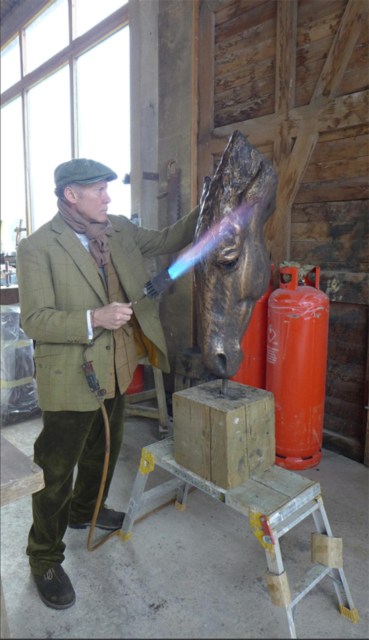 Nic Fiddian Green Blow Torch