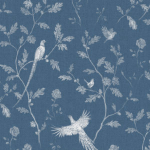 China Blue Fabric