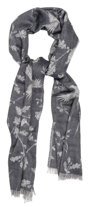 Pip Howeson Navy Scarf Styled