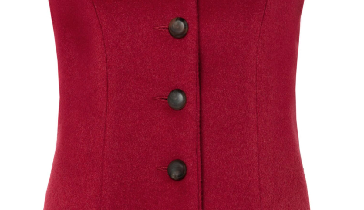 Pip Howeson Annie Waoistcoat Button Detail