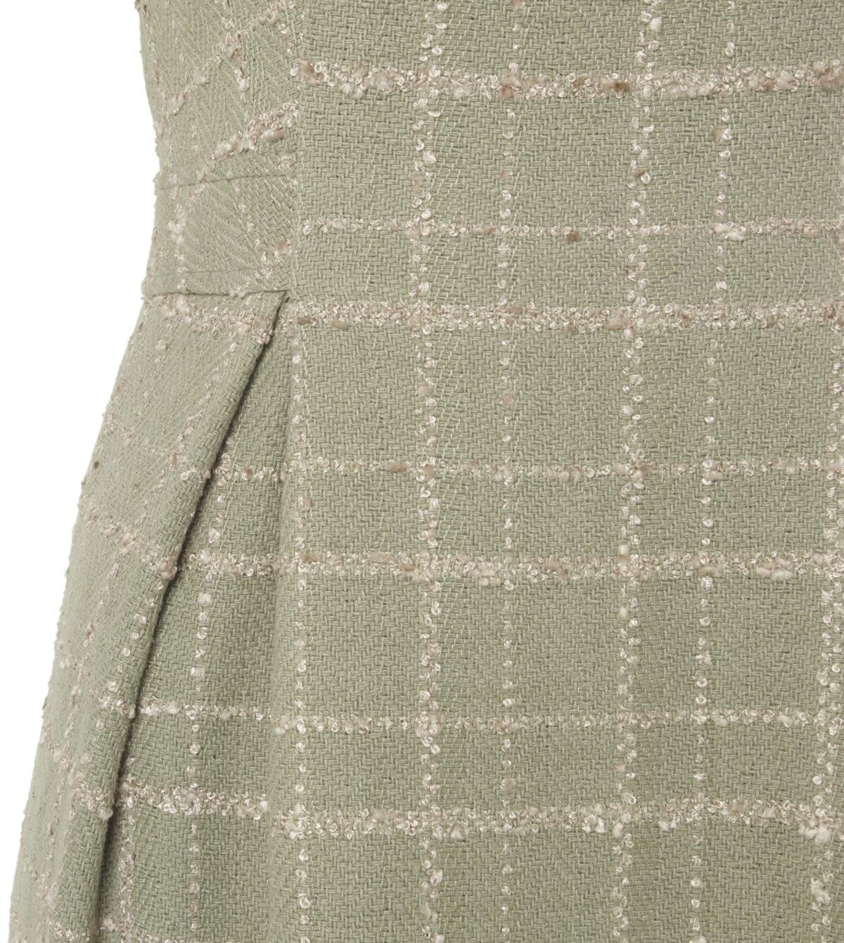 Pip Howeson Zelda Dress Nipped Waist Pleat