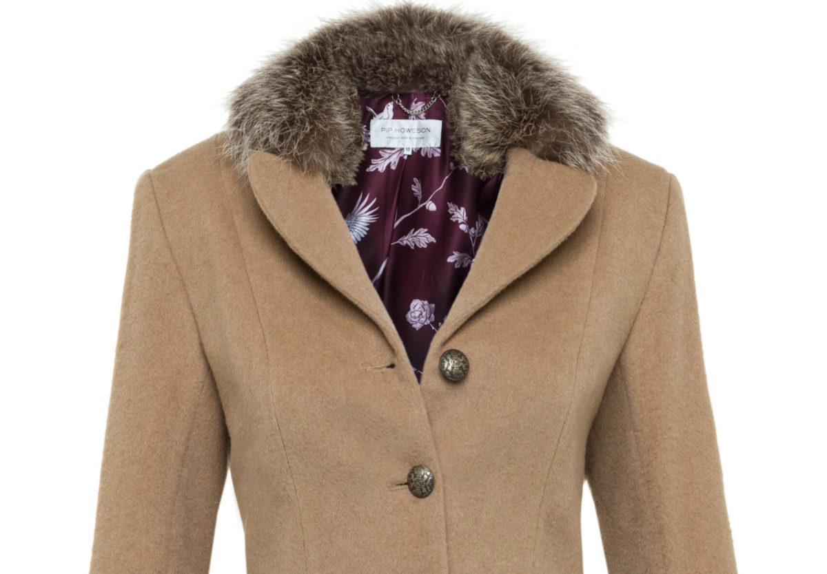 Pip Howeson Florance Coat Bust And Collar