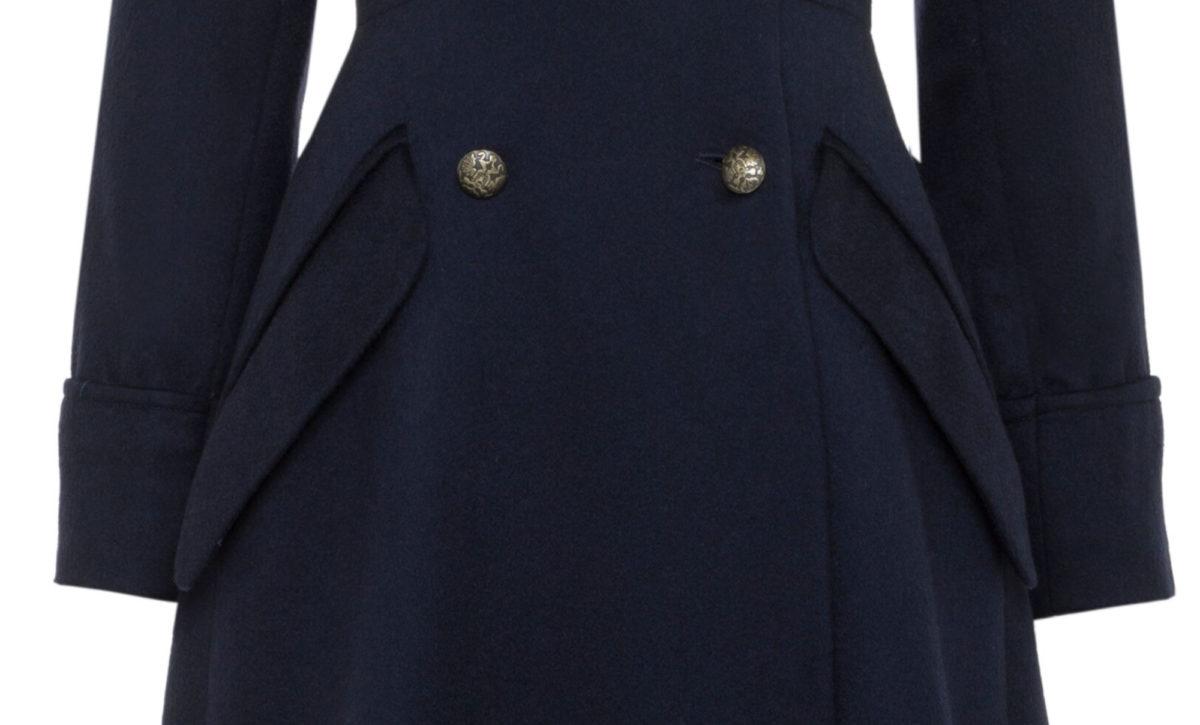 Pip Howeson Margot Coat Waist Detail