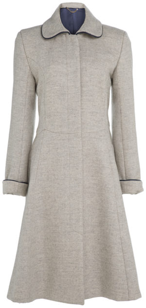 Pip Howeson Scallop Coat
