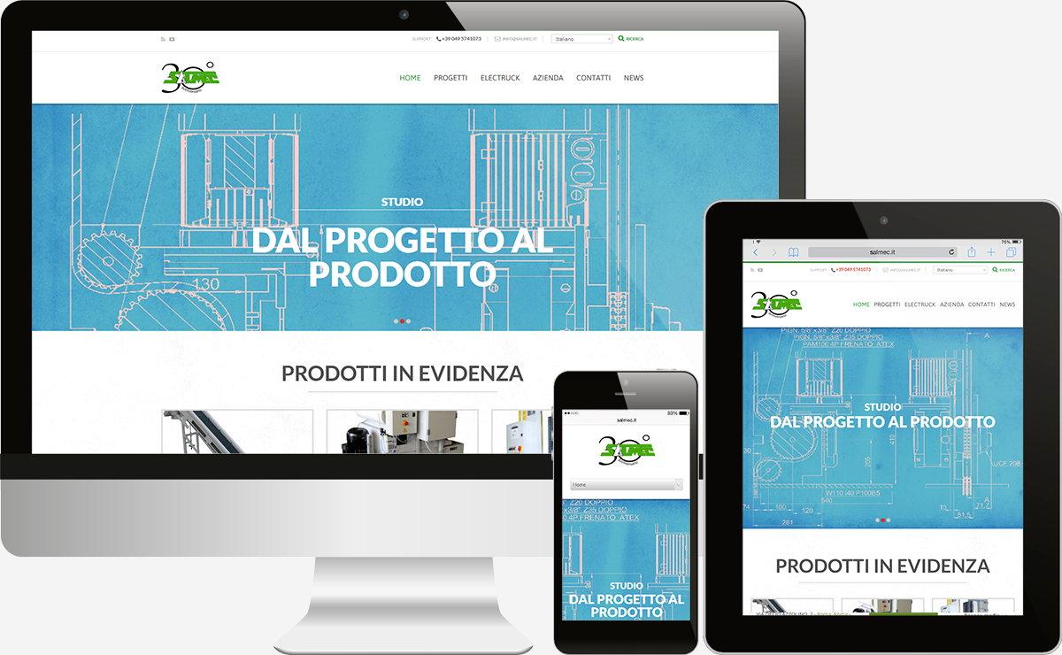 Salmec: Showcase websites