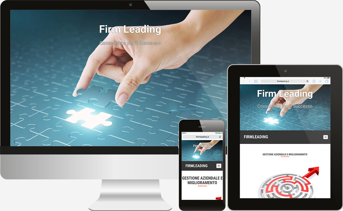 Firm Leading: Showcase websites