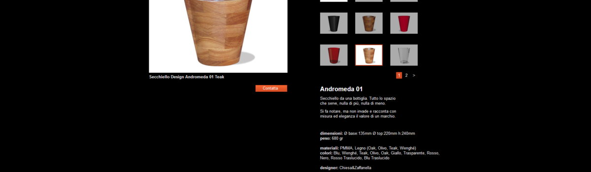 Showcase websites: alternative view 3. Armonica Design