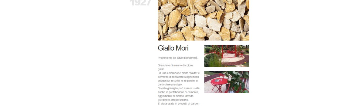 Sito Vetrina, Web application: vista alternativa 3. Bellamoli Granulati