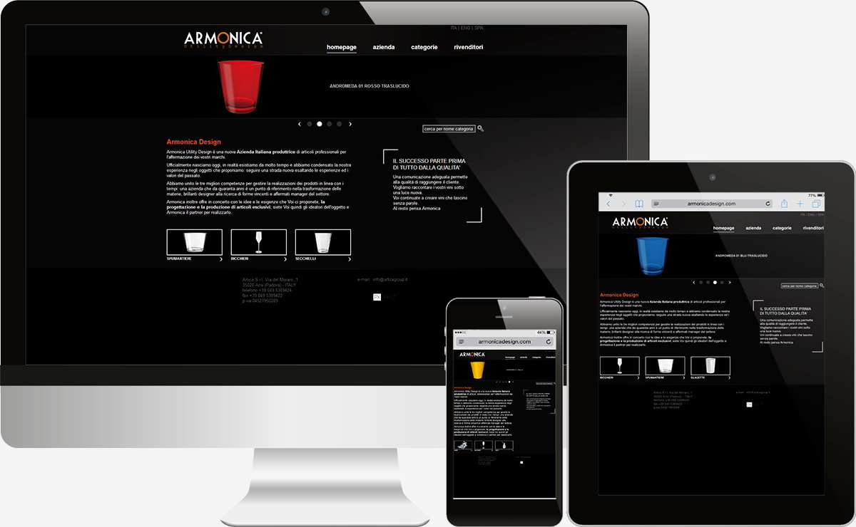 Armonica Design: Showcase websites
