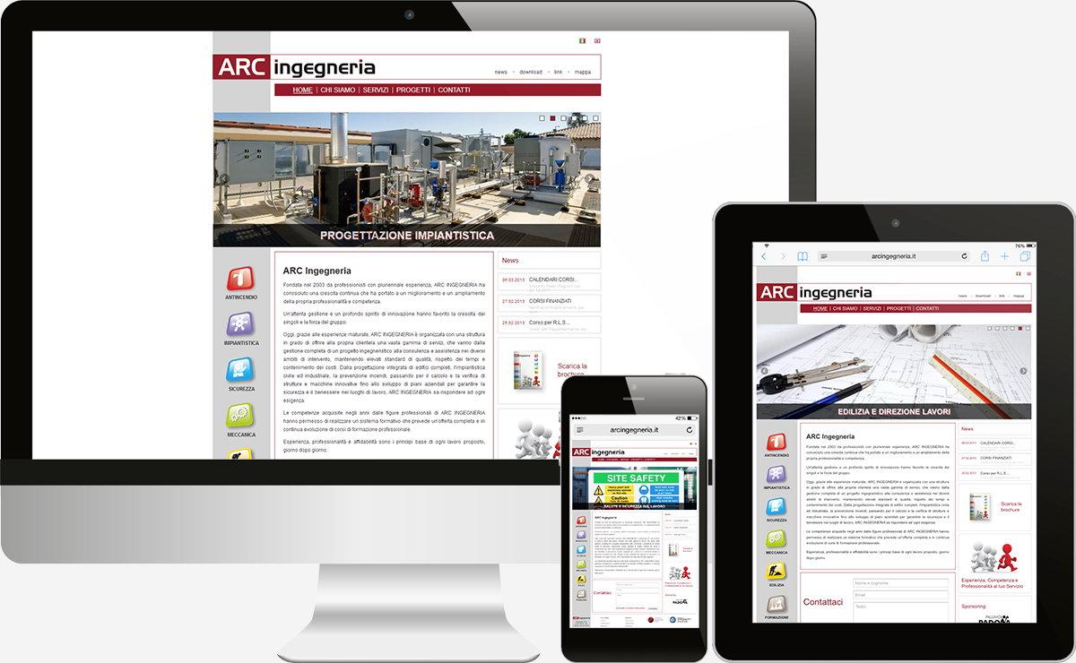 Arcingegneria: Showcase websites