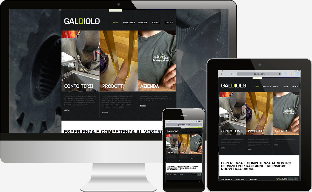 Galdiolo: Showcase websites