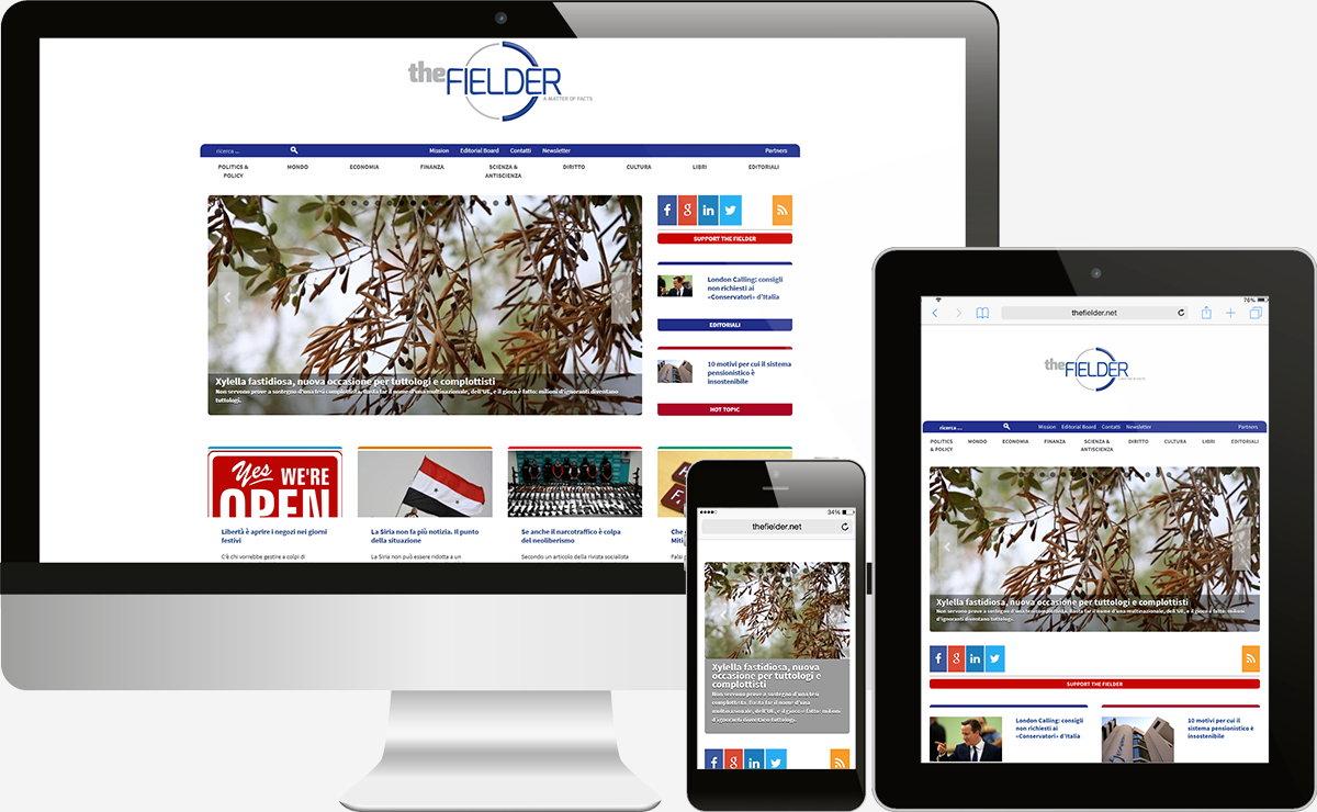 The Fielder: Showcase websites, Web apps