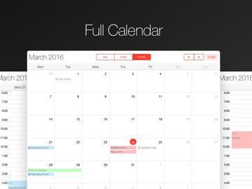Full calendar small