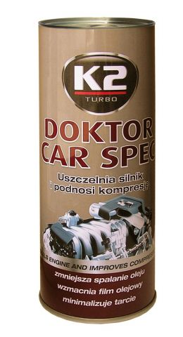 K2  DOCTOR CAR SPEC DOD DO OLEJU 443ML