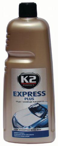 K2  EXPRESS SZAMPON Z WOSKIEM 1L