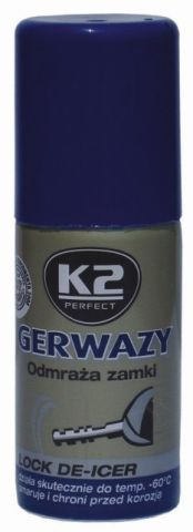 K2  GERWAZY ODMRAŻACZ DO ZAMKÓW SPRAY 50ML