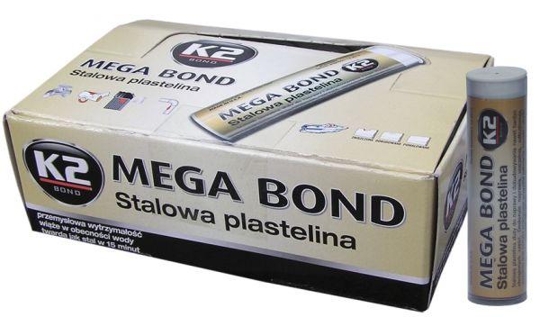 K2 MEGA BOND STALOWA PLASTELINA 72G B320