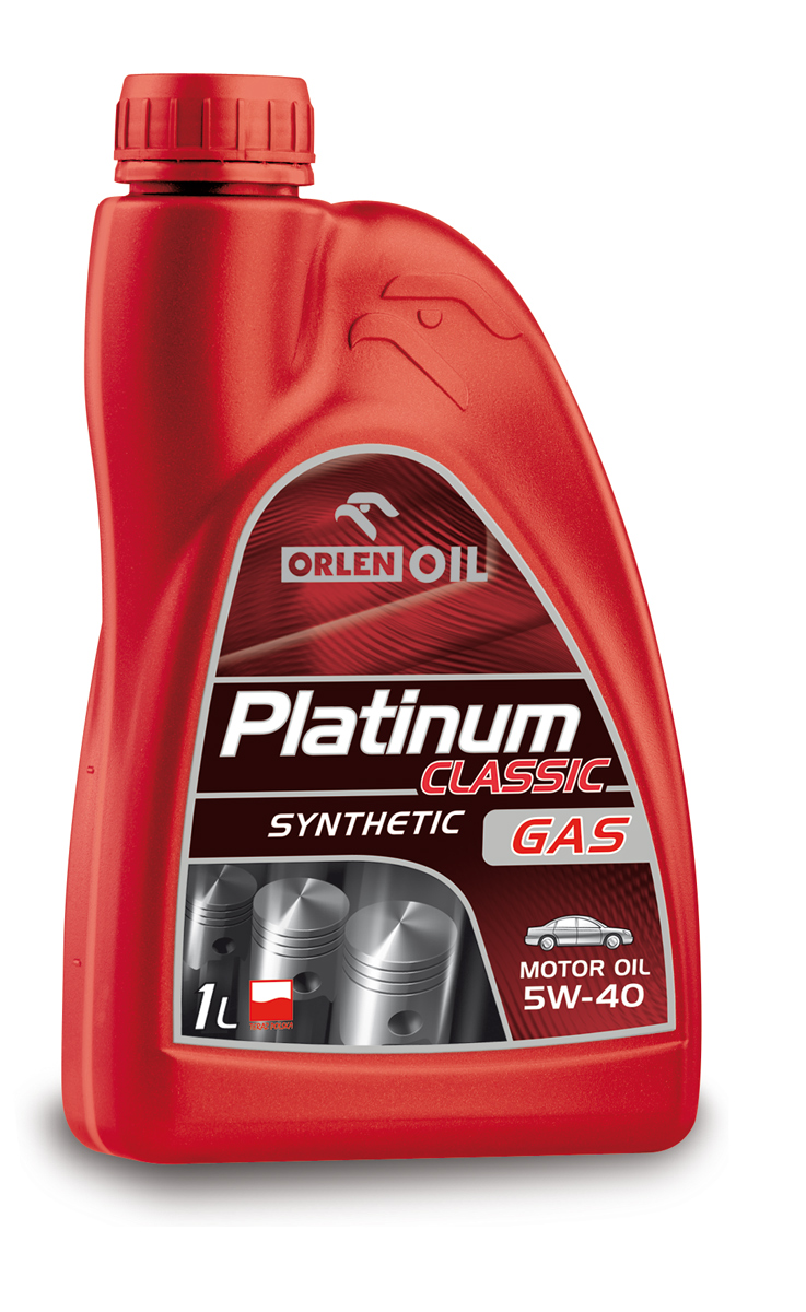 PLATINUM CLASSIC GAS SYNTHETIC  5W/40    1L
