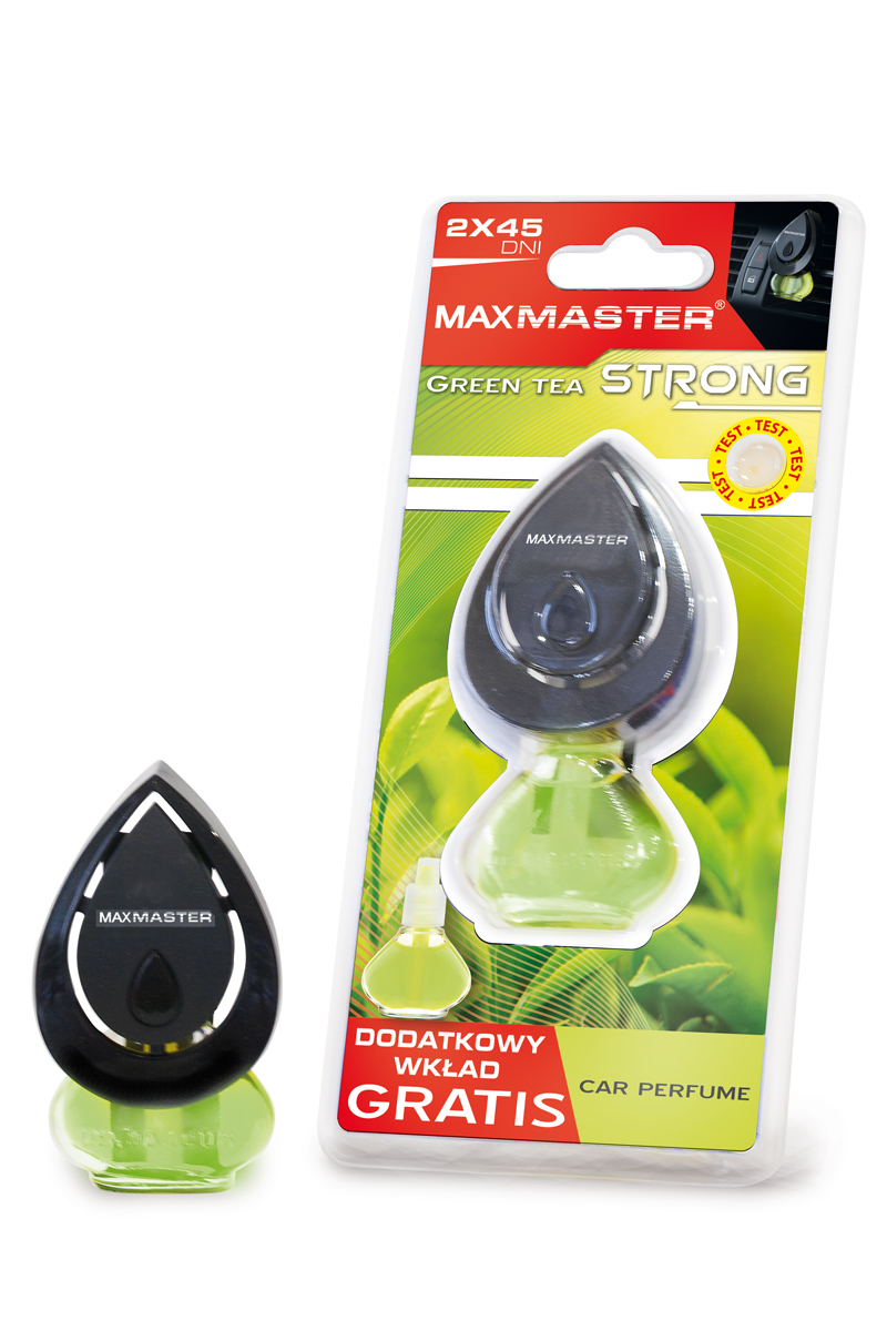MAXMASTER ZAPACH STRONG GREEN TEA + ZAPAS