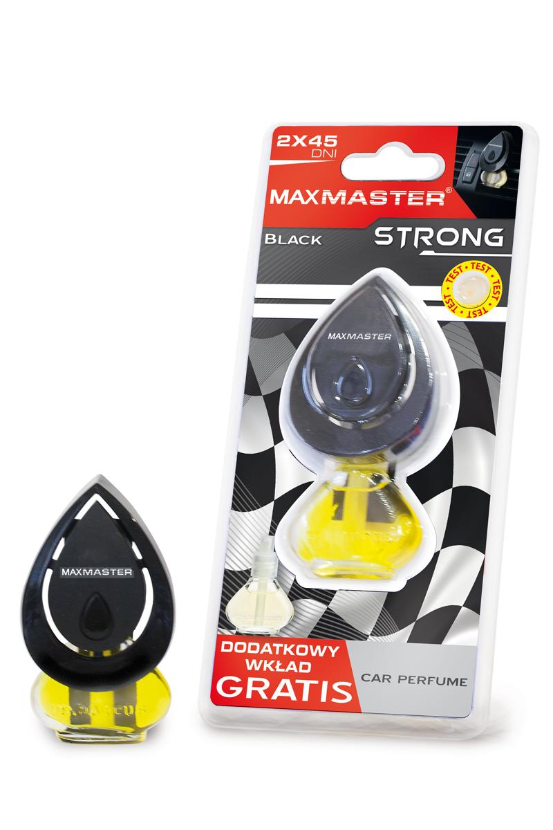 MAXMASTER ZAPACH STRONG BLACK + ZAPAS