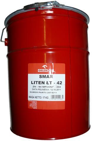 ORLEN OIL LITEN ŁT-42     H 17kg