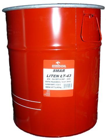 ORLEN OIL LITEN ŁT-43     H 40kg