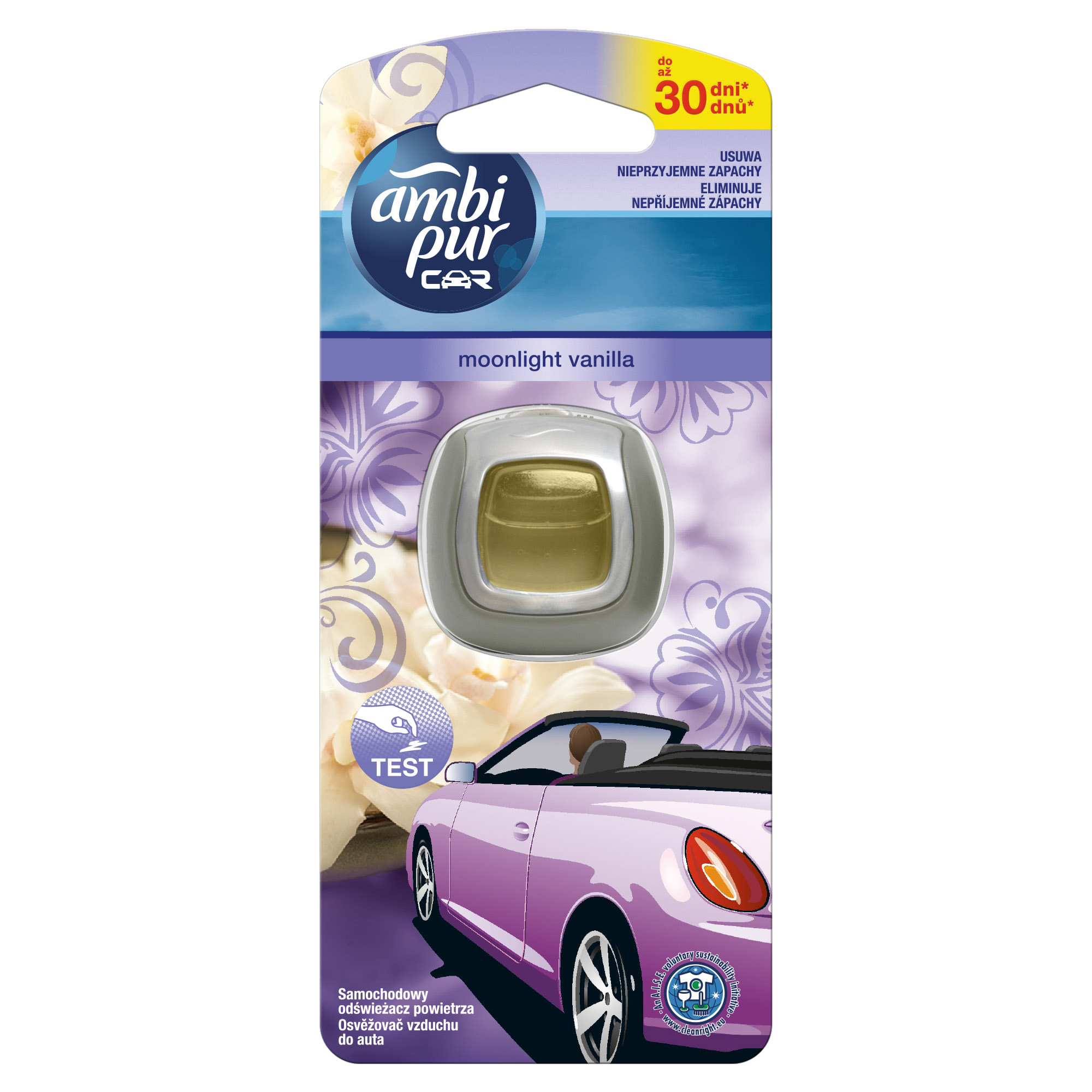 AMBI PUR CAR JAGUAR VANILLA MOONLIGHT 2ML