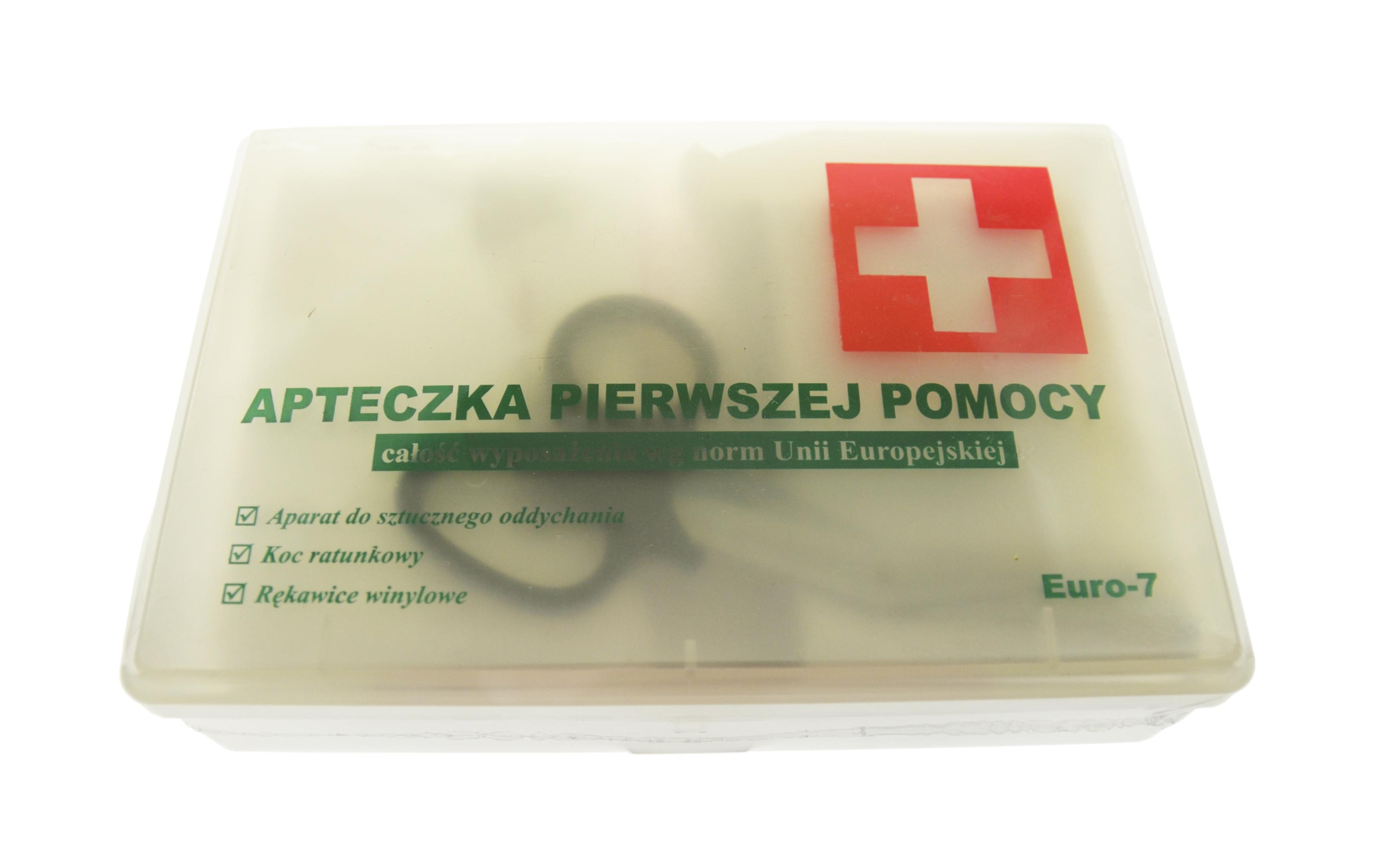 MAXMASTER CAR APTECZKA EURO ZESTAW E-07 USTNIK KOC NOŻYCZKI