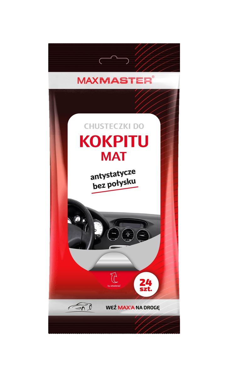 MAXMASTER CHUSTECZKI WILGOTNE DO KOKPITU MAT 24SZT *W zamiennik 40511