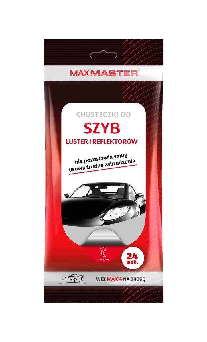 MAXMASTER CHUSTECZKI WILGOTNE DO SZYB 24SZT *W zamiennik 40512