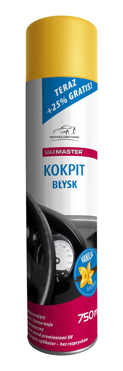 MAXMASTER NANO KOKPIT VANILIA 750ML BŁYSK