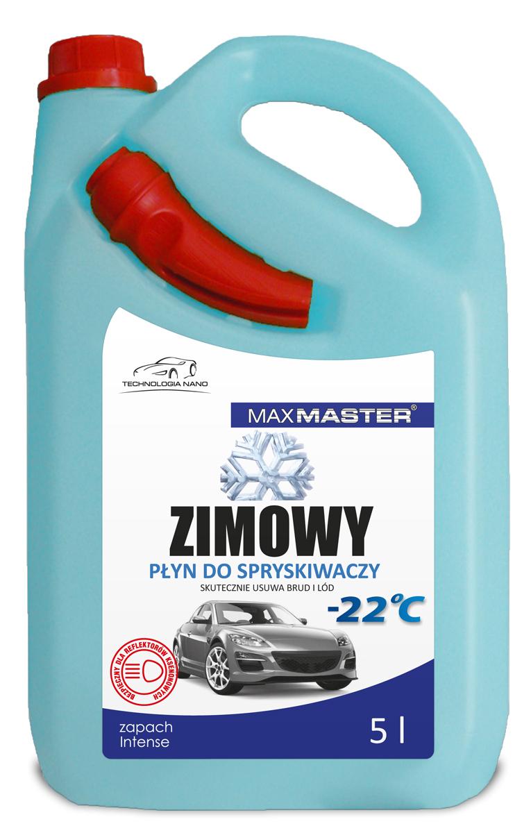 MAXMASTER PŁYN DO SPRYSKIWACZY ZIMOWY -22C  Z LEJKIEM 5L