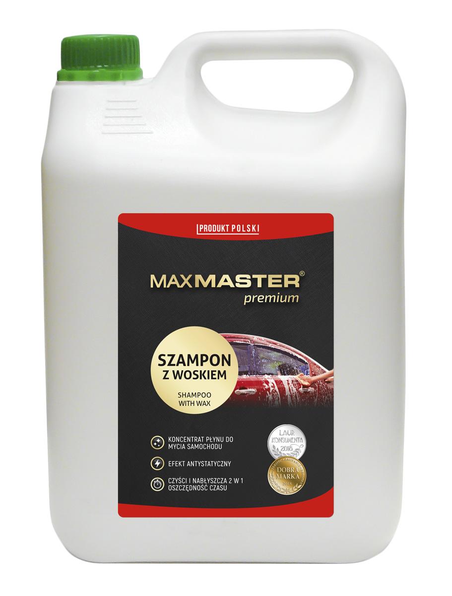 MAXMASTER PREMIUM SZAMPON Z WOSKIEM 5 L