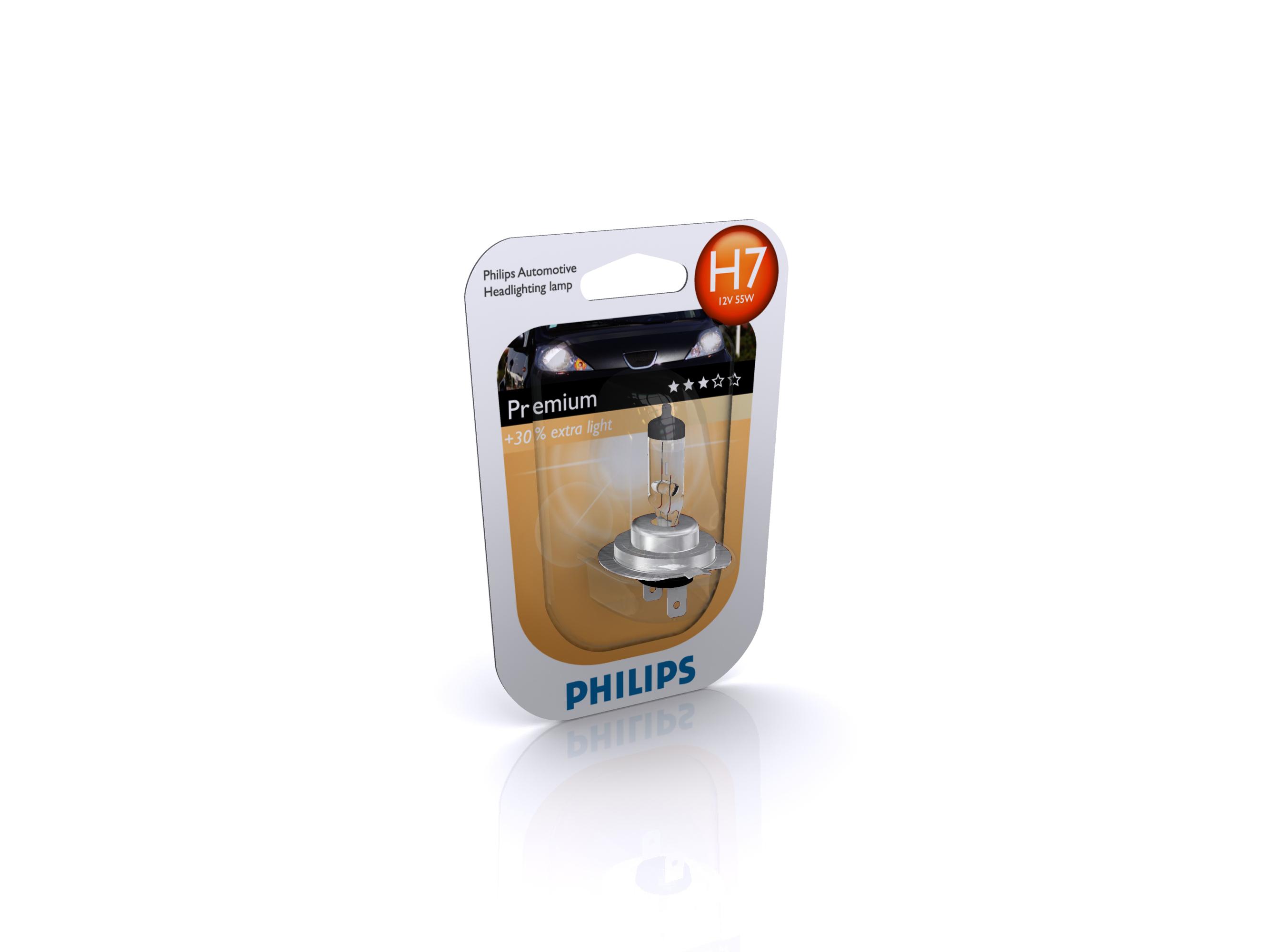 PHILIPS 12972PRC1 H7 12V 55W PX26D PREMIUM 1SZT. + 30%
