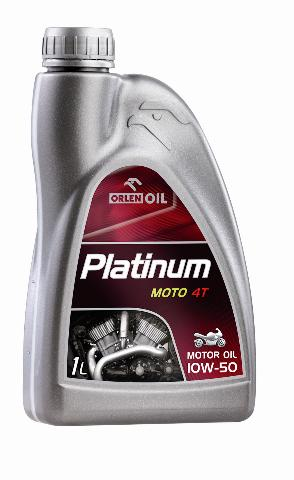PLATINUM MOTO 4T SYNTHETIC 10W/50 1L   W