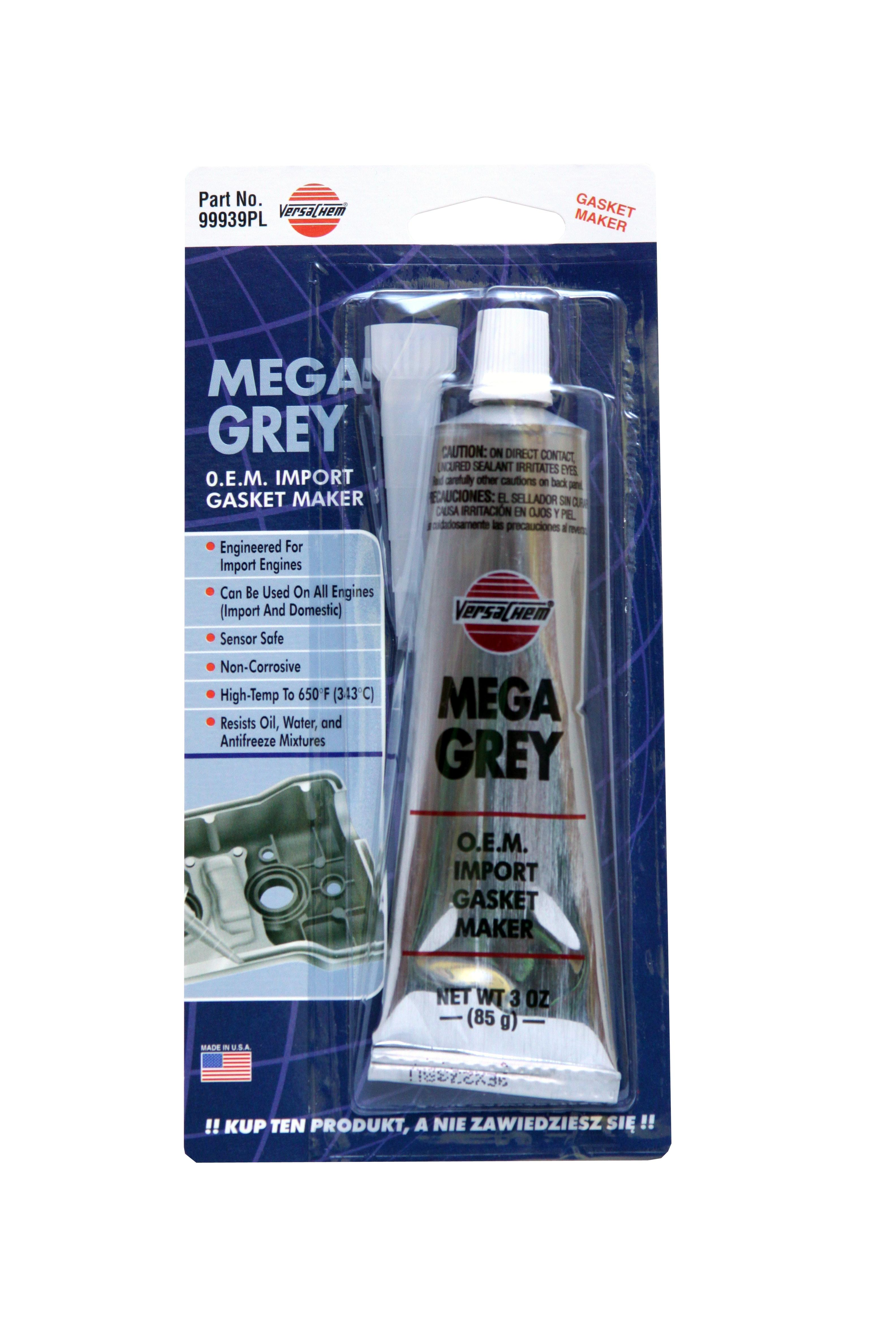 VE DV99939  MEGA GREY SILICONE 85G VERSACHEM