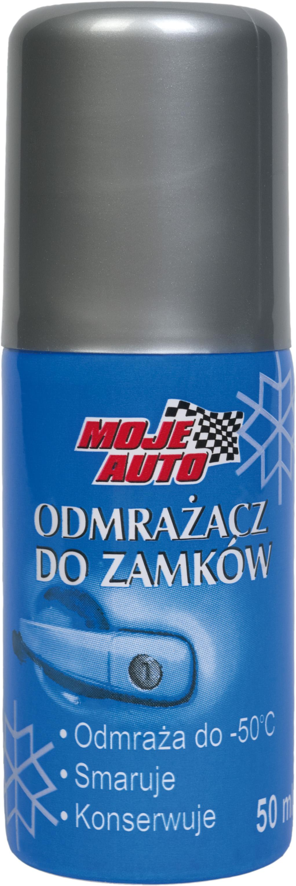 MA 25-013  ODMRAŻACZ DO ZAMKÓW 50ML MOJE AUTO