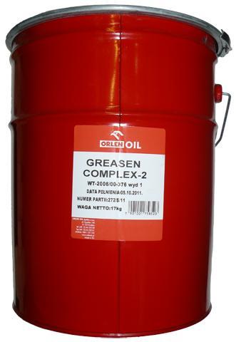 ORLEN OIL GREASEN COMPLEX 2   17KG