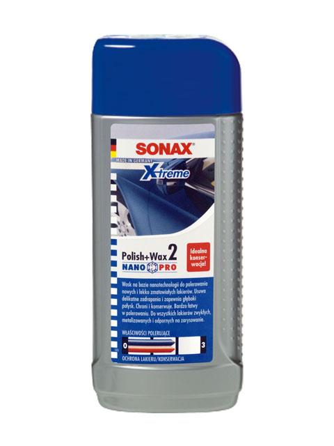 SONAX 207 100  XTREME WOSK POLISH&WAX 2 NANO PRO 250ML