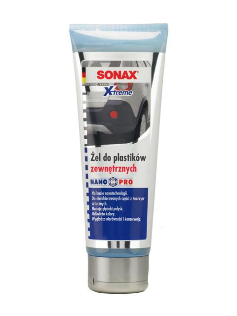 SONAX 210 141  XTREME ŻEL DO PLASTIKÓW ZEWNĘTRZNYCH 250ML