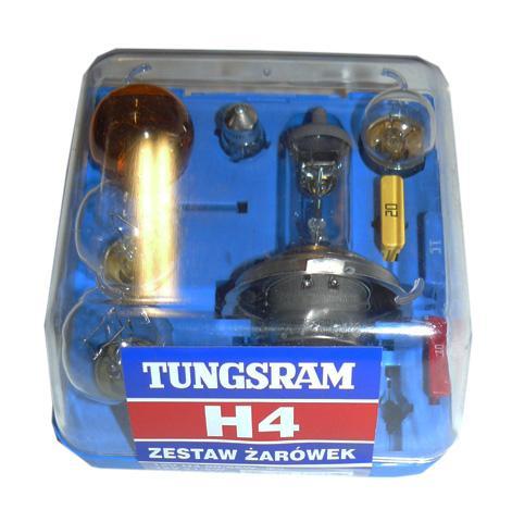 TUNGSRAM TZ-H4 ZESTAW H4 12V