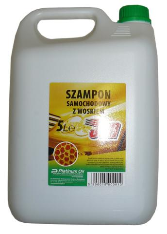 JAN SZAMPON Z WOSKIEM 5L