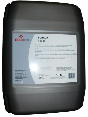 ORLEN OIL CORALIA VDL 46  KP 20L