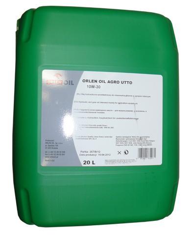 ORLEN OIL AGRO UTTO 10W/30   KP 20L