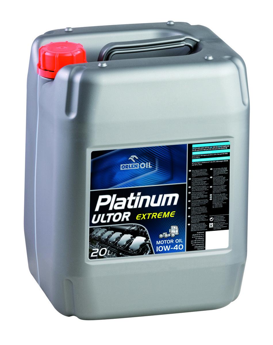 PLATINUM ULTOR EXTREME CF/SL 10W/40   KP 20L