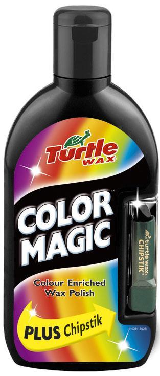 TW 70-035  COLOR MAGIC PLUS WOSK CZARNY 0.5L + KREDKA TURTLE WAX