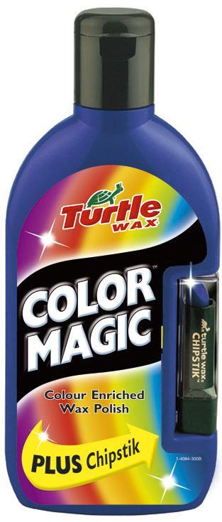 TW 70-036  COLOR MAGIC PLUS WOSK GRANATOWY 0.5L + KREDKA TURTLE WAX *wycofane