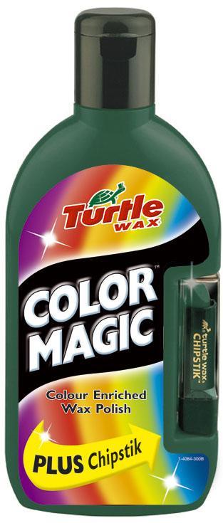 TW 70-037  COLOR MAGIC PLUS WOSK ZIELONY 0.5L + KREDKA TURTLE WAX