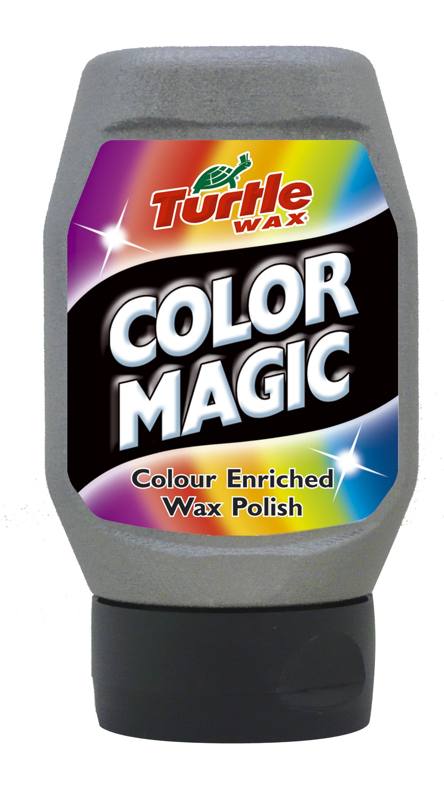 TW 70-140  COLOR MAGIC WOSK SREBRNY 300ML TURTLE WAX